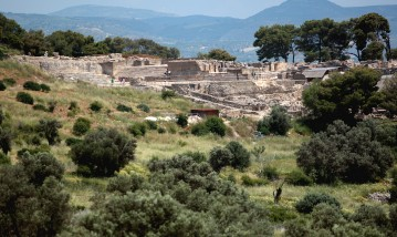 The archaeological site of Festos